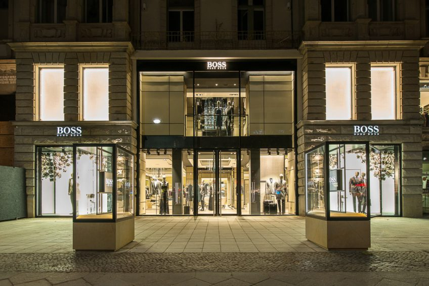 hugo boss flagship store berlin 2014 bdia bund deutscher innenarchitekten. Black Bedroom Furniture Sets. Home Design Ideas