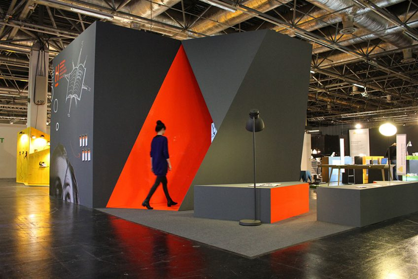 messestand imm cologne k ln 2014 bdia bund deutscher. Black Bedroom Furniture Sets. Home Design Ideas